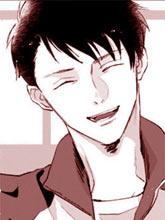 眼睛沒有笑的男生×總是戴著口罩的男生
