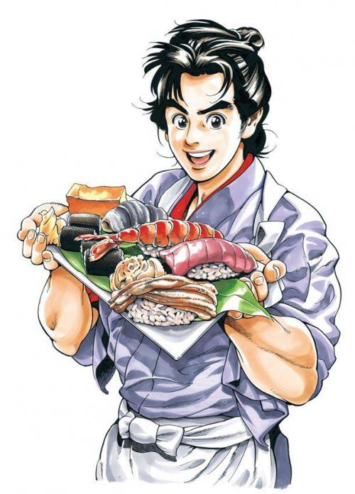 美食漫畫《すしいち!(壽司一)》主角